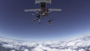 výskok ze skyvana